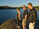 Steina, Roger och Christer