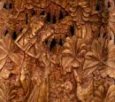 Balinesiskt träsnideri