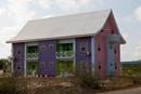 Färgglatt hus