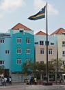 Curacaos flagga