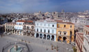 Plaza Vieja, composite of six pictures to capture the full view