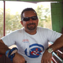 Ronel, our friendly divemaster; a tough guy