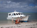 This is the diveboat that operates from our larger liveaboard