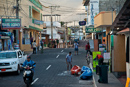 Largest town in Galapagos at about 15000 inhabitants