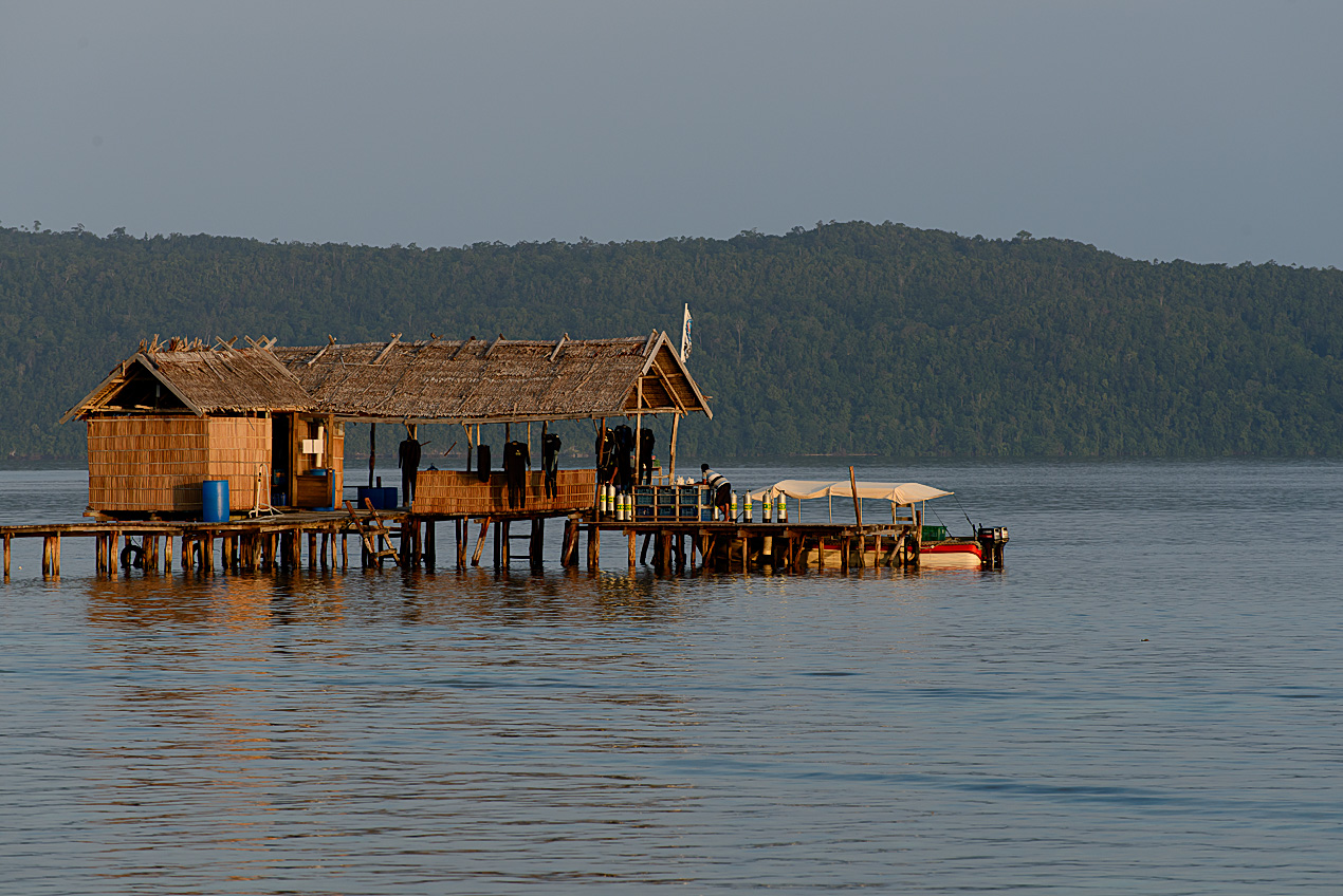 The dive jetty