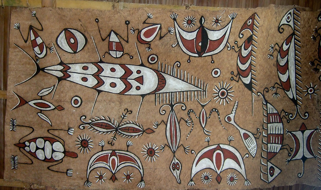 Papuan traditionel art