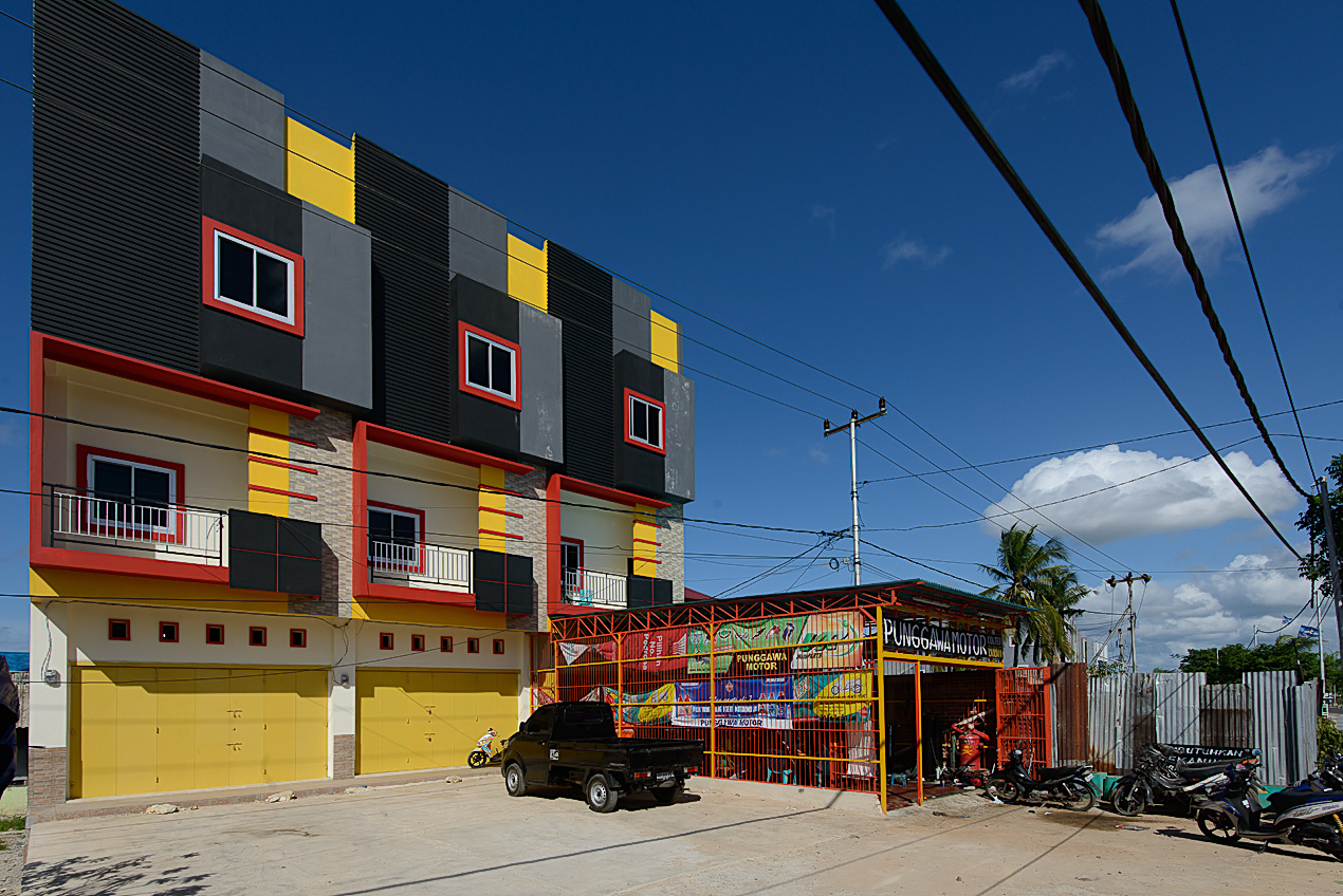 A Lego building in Sorong!