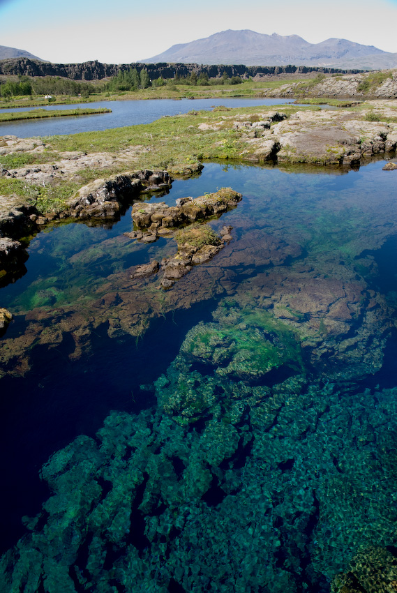 clear water at Silfra