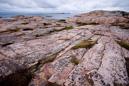 Ice-polished rocks in Bohuslän