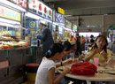 Chinese food stalls