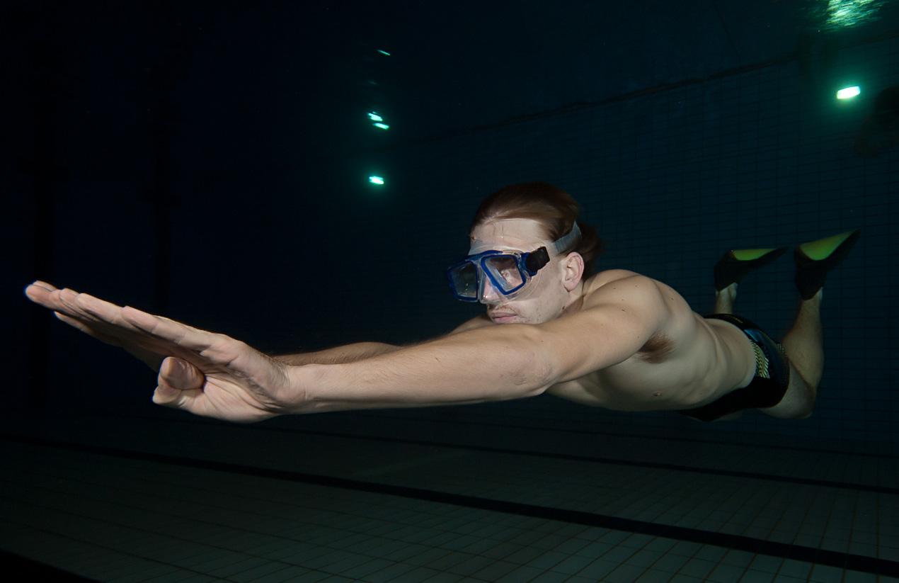 Aqualund freedivers
