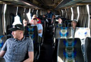 A shabby arabic bus with no drinking water takes us back to Jeddah