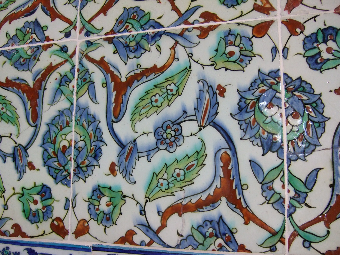 beautiful Iznik tiles