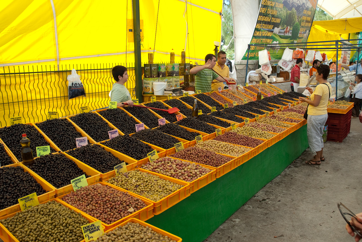 Olives. A few different kinds!