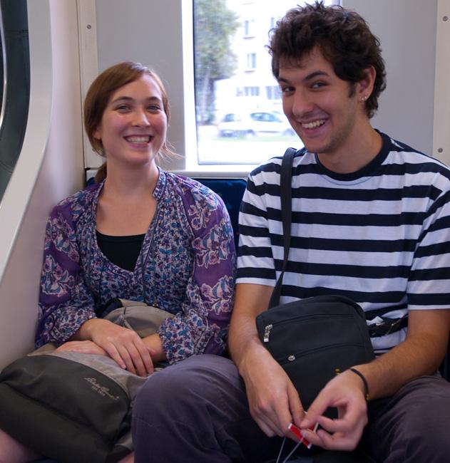 Pelin with boyfriend Hüseyin