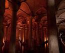 336 pelare håller upp taket på denna vattenreservoir från 500-talet