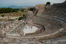 Amfiteatern används fortfarande (Pelin har sjungit här)
