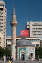En liten moské i Izmirs centrum